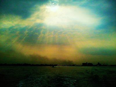 Port Dickson Photograph - Sun Rays by Sivaanan Balachandran
