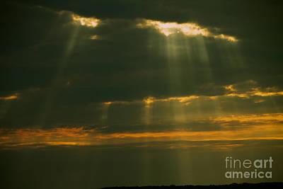 Photograph - Sun Rays  by William Norton