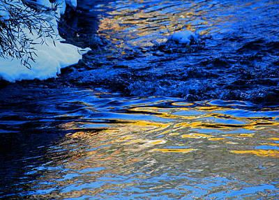 Sun Reflection Art Print