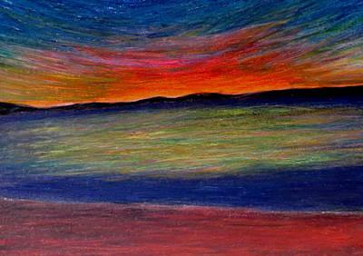 Sun-rest Art Print