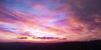 Bir Painting - Sun Rise by Clai