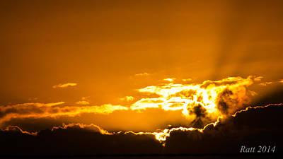 1920s Flapper Girl - Sun Rise by Michael  Podesta