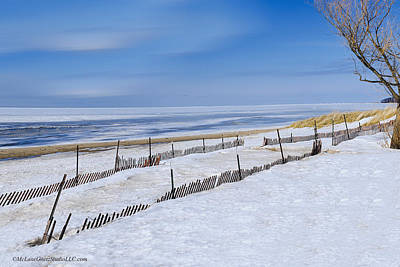 Port Huron Photograph - Sun Sand And Snow by LeeAnn McLaneGoetz McLaneGoetzStudioLLCcom