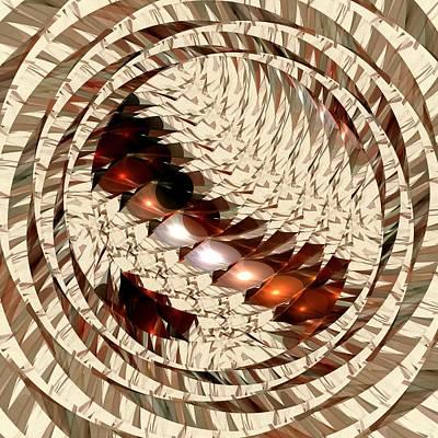 Abstract Sights Mixed Media - Sun Sand Shadows by Anastasiya Malakhova