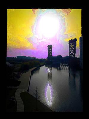 Digital Art - Sun Set South Loop by Zac AlleyWalker Lowing
