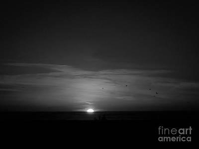 Photograph - Sun Sets Down by Fei A
