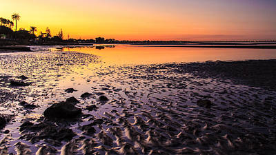 Photograph - Sun Sets On Bramble Bay by Peta Thames