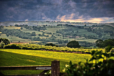 Photograph - Sun Setting In Shropshire by Pennie  McCracken