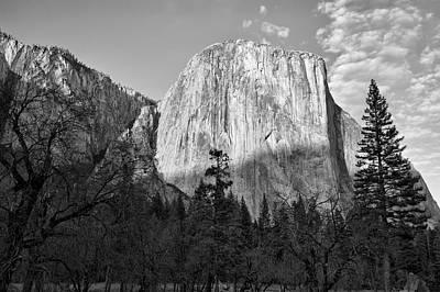 Photograph - Sun Setting On El Capitan - Yosemite National Park by Gregory Ballos
