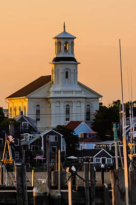 Photograph - Sun Setting On Ptown by Alan Marlowe