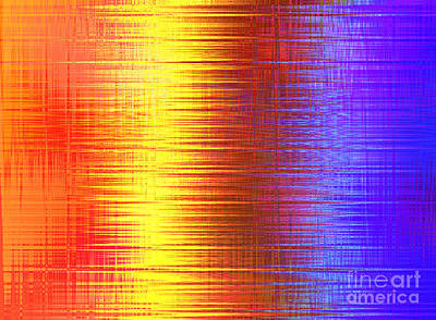 Digital Art - Sun Shining On The Lake by Kristi Kruse