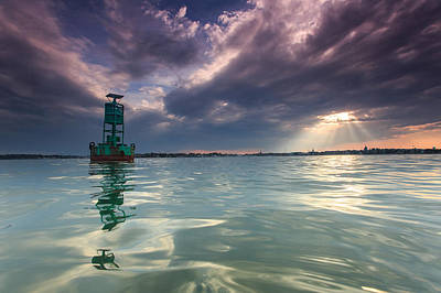 Photograph - Sun Spill Over Annapolis by Jennifer Casey