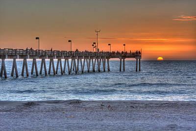 Venice Beach Photograph - Sun Splash  by Gerald Adams