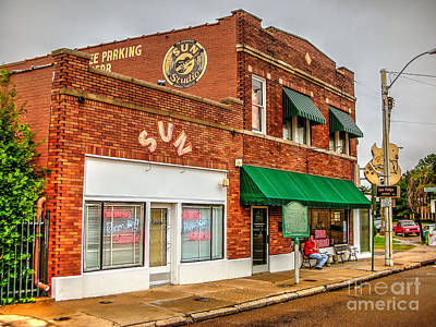Photograph - Sun Studio by Paul Mashburn