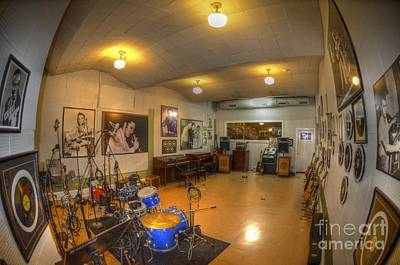 U2 Photograph - Sun Studios by Shawn Dechant