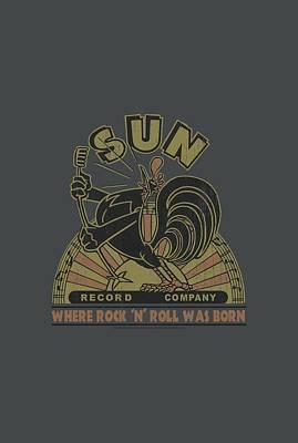 Music Digital Art - Sun - Sun Rooster by Brand A