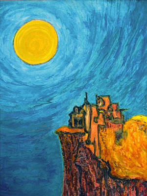 Painting - Sun Temple Of Forgiveness by Raul Morales