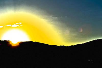 Sun Art Print by Teresa Dixon