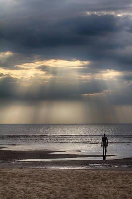 Photograph - Sun Through The Clouds 1 by Leah Palmer
