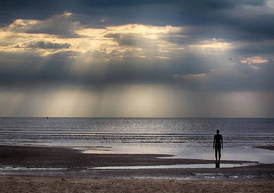 Photograph - Sun Through The Clouds 2 by Leah Palmer