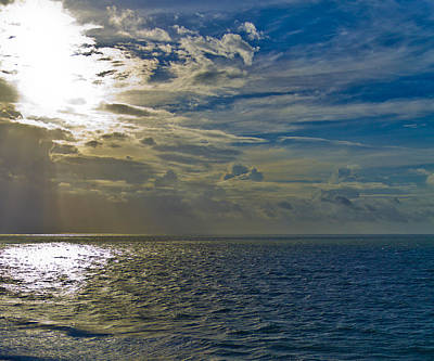 Photograph - Sun Through The Clouds by Jonny D