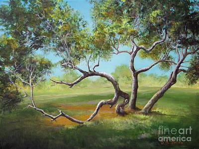 Painting - Sun Tree by Deborah Smith