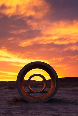 Photograph - Sun Tunnels by Dustin  LeFevre