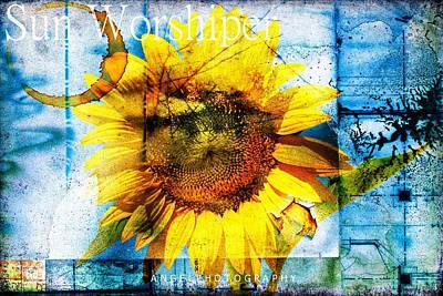 Coffe Digital Art - Sun Worshiper by Wendy Mogul