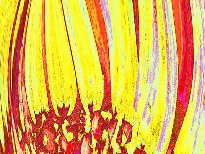 Digital Art - Sun Worshipper by Wendy J St Christopher