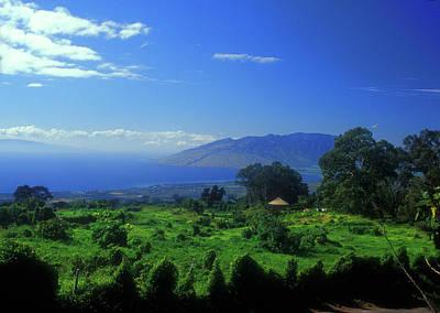 Photograph - Sun Yat Sen Park Maui Hawaii by John Burk