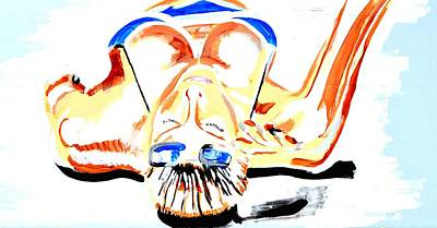 Sunbathe Art Print by J Anthony
