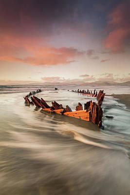 Shipwreck Photograph - Sunbeam by Marek Biegalski