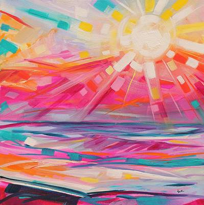 Sunbeaming Original by Eve  Wheeler