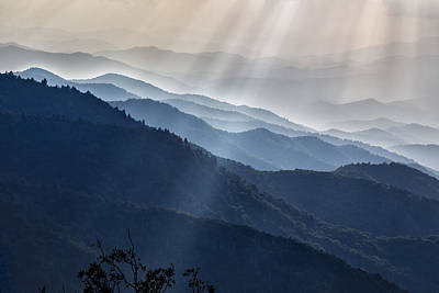 Photograph - Sunbeams 01 by Jim Dollar