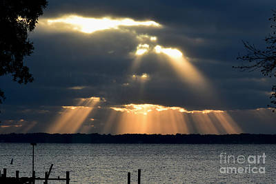 Photograph - Sunbeams by Gary Smith