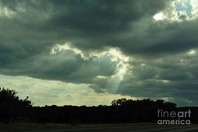 Photograph - Sunbeams by Lne Kirkes