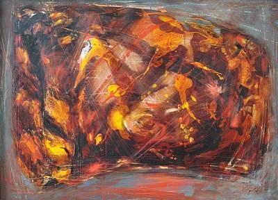 Sunbeams4 Art Print by Sergey Ignatenko