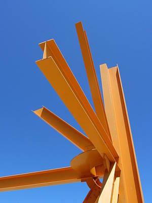 Photograph - Sunburst 1 by Anita Burgermeister