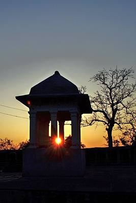 Photograph - Sunburst At Temple Of The 64 Yoginis - Jabalpur India by Kim Bemis