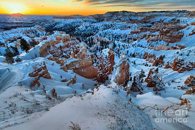 Photograph - Sunburst Over The Hoodoos by Adam Jewell
