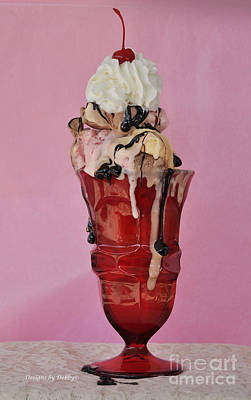 Sundae Anyone? Art Print