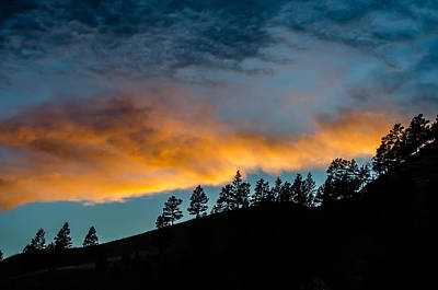 Photograph - Sundance Sunset by Debra Martz
