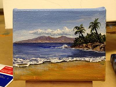 Painting - Sunday Afternoon At The Beach by Darice Machel McGuire