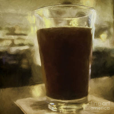 Photograph - Sunday Brewsky by Jean OKeeffe Macro Abundance Art