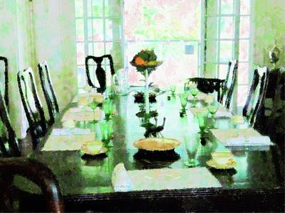 Mixed Media - Sunday Dinner by Florene Welebny