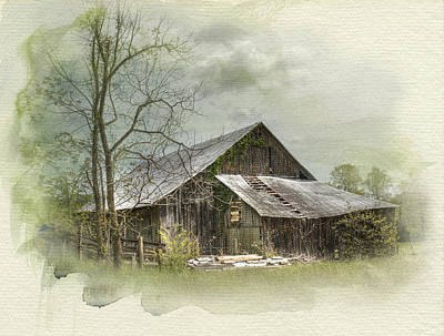 Photograph - Sunday Drive Barn by Kathleen Holley