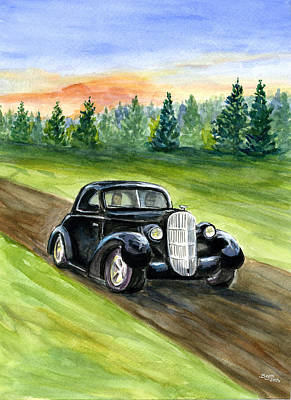 Painting - Sunday Drive by Clara Sue Beym