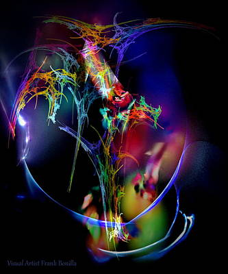 Lucille Ball - Sunday Flowers by Frank Bonilla