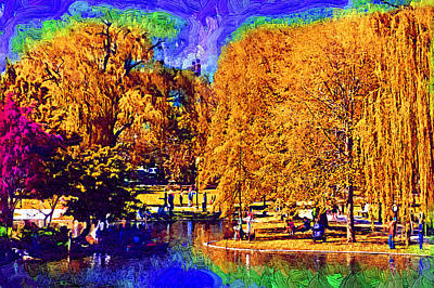 Sunday In The Park Art Print by Kirt Tisdale