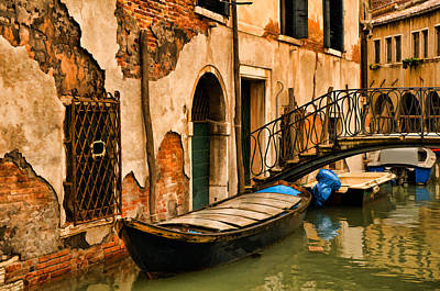 Sunday In Venice Art Print